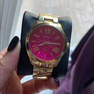 Fossil Pink Watch